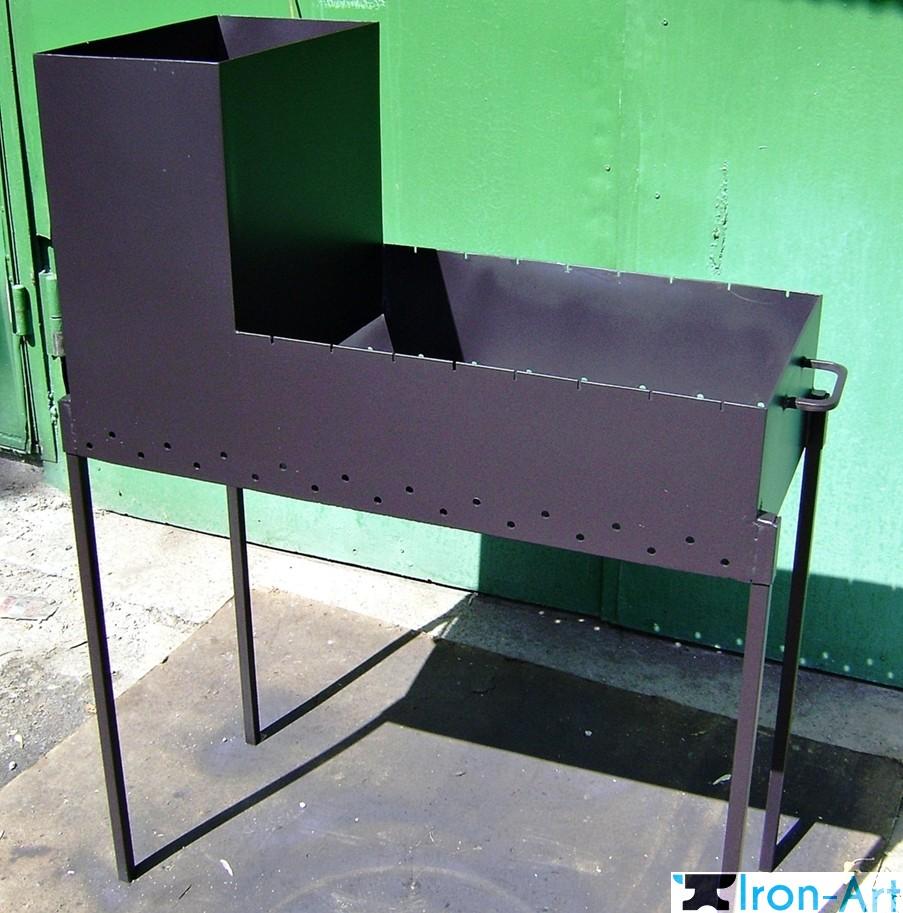 Мангал своими руками из металла: чертежи и конструкции