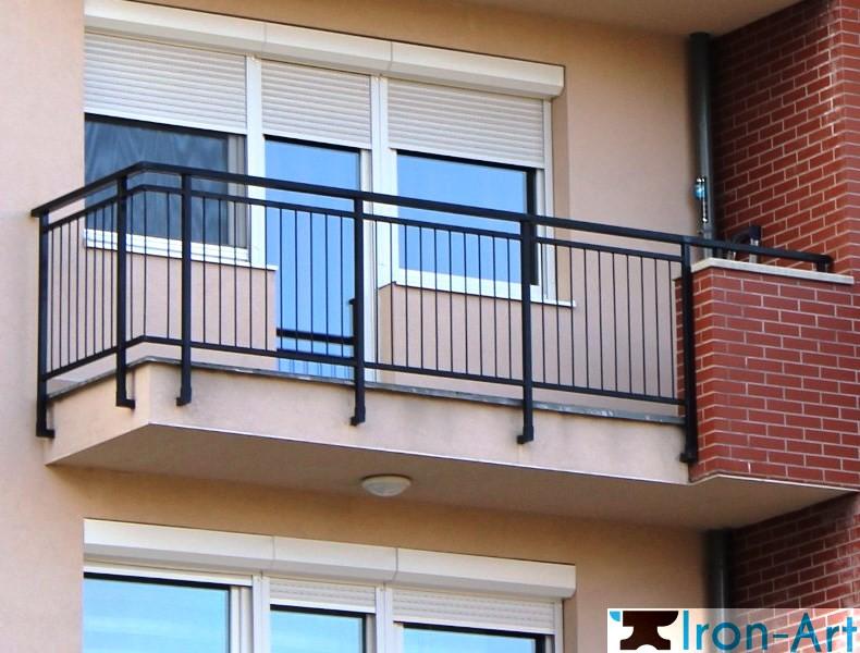 03 - Металлические балконы на заказ