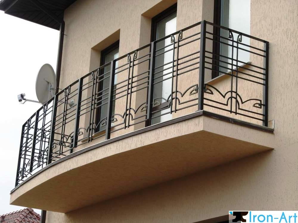 115322 - Металлические балконы на заказ