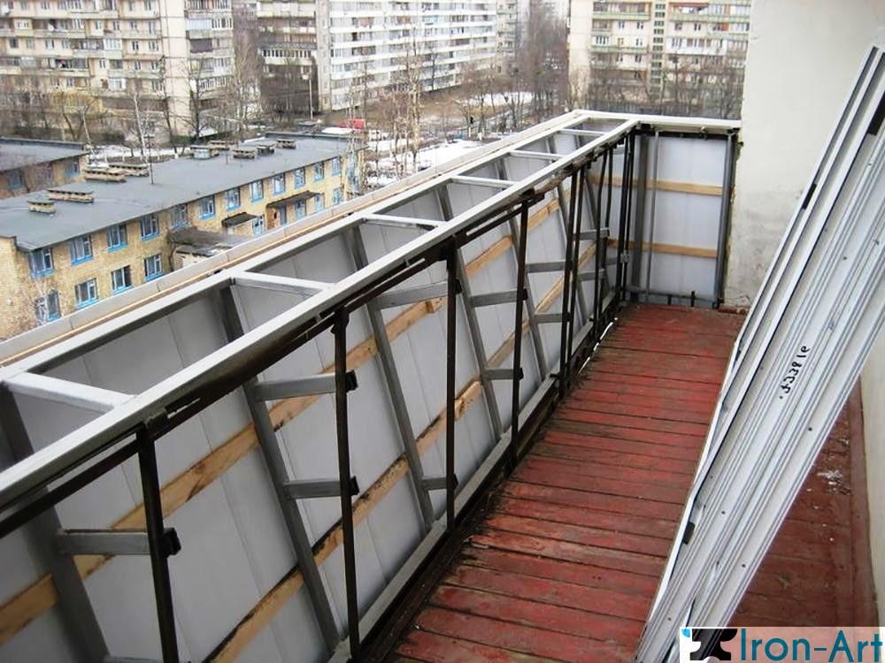 14 1 1 - Металлические балконы на заказ