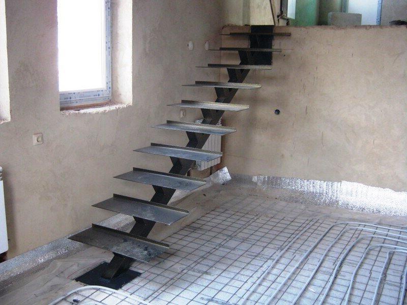 20 - Лестницы из металла на заказ