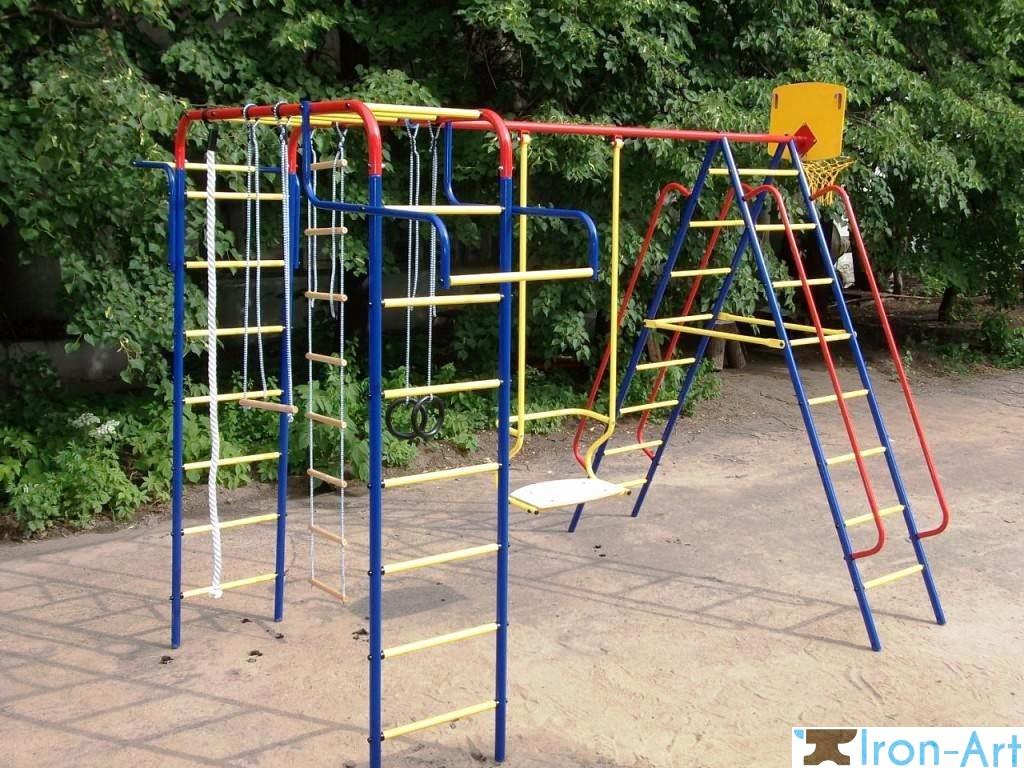 26 1024x768 1024x768 - Детские площадки из металла на заказ