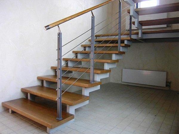 29 2 1 - Лестницы из металла на заказ