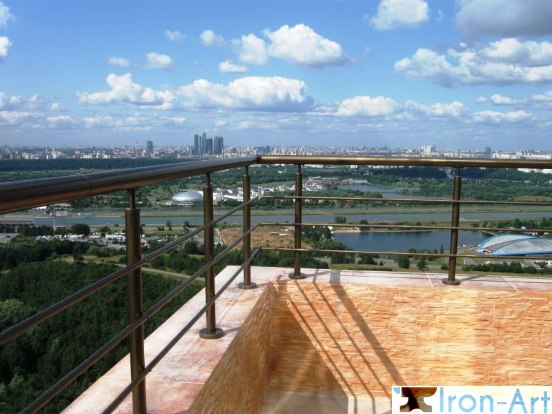 388 128 - Металлические балконы на заказ