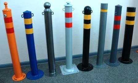 5 3 - Металлические парковочные столбики на заказ