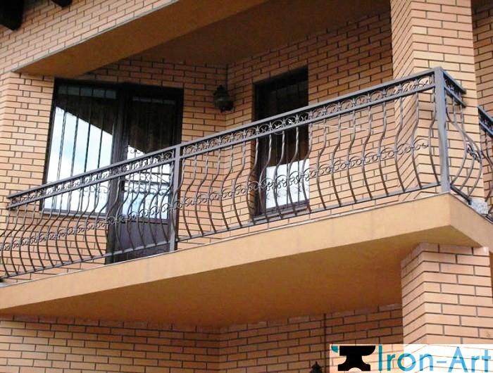 6 - Металлические балконы на заказ