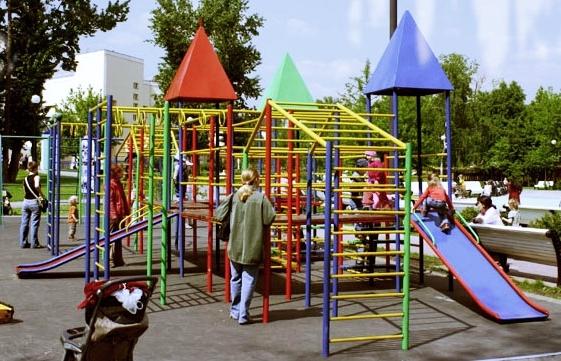 63862 - Детские площадки из металла на заказ