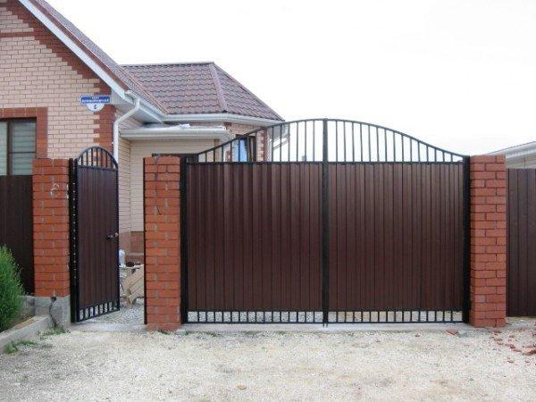 7 1 - Металлические ворота и калитки
