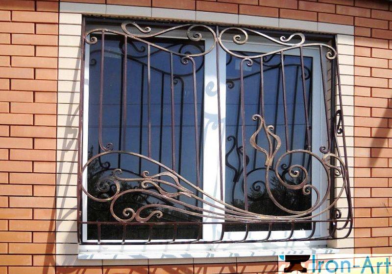 Reshetka kovanaya 12 e1465903575170 - Металлические решетки на окна