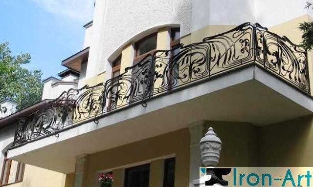 balkon 4 - Металлические балконы на заказ