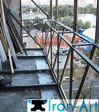 balkon1 - Ограждения из металла под заказ