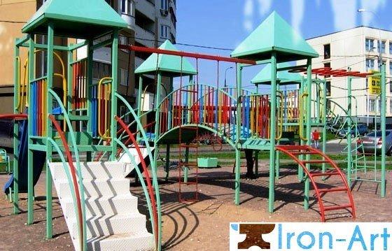 d5c877edc85bb737f63d285ca25b8404 - Детские площадки из металла на заказ