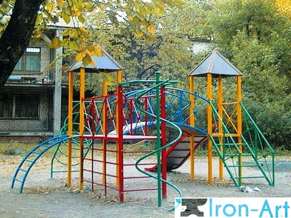 detskaya ploshhadka2 - Детские площадки из металла на заказ