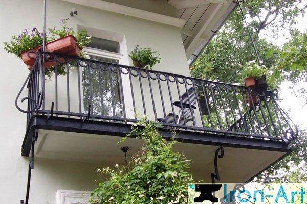 foto N42 - Металлические балконы на заказ
