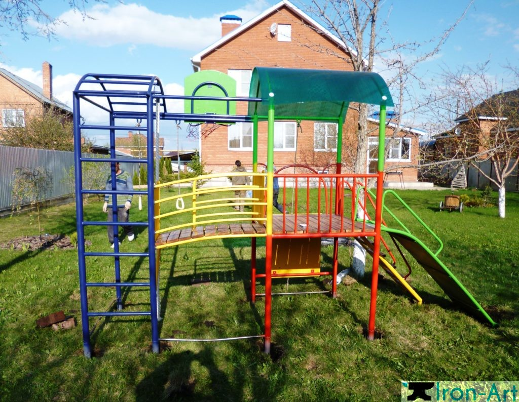 komples 1024x794 - Детские площадки из металла на заказ