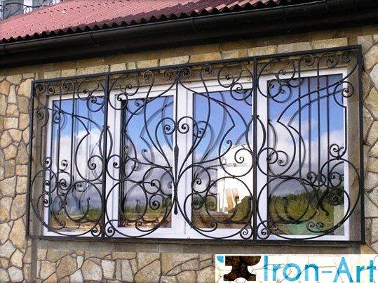 kovanie reshetki kiev kovanie zabori kovanie balkoni kiev le 239469b 1 - Металлические решетки на окна
