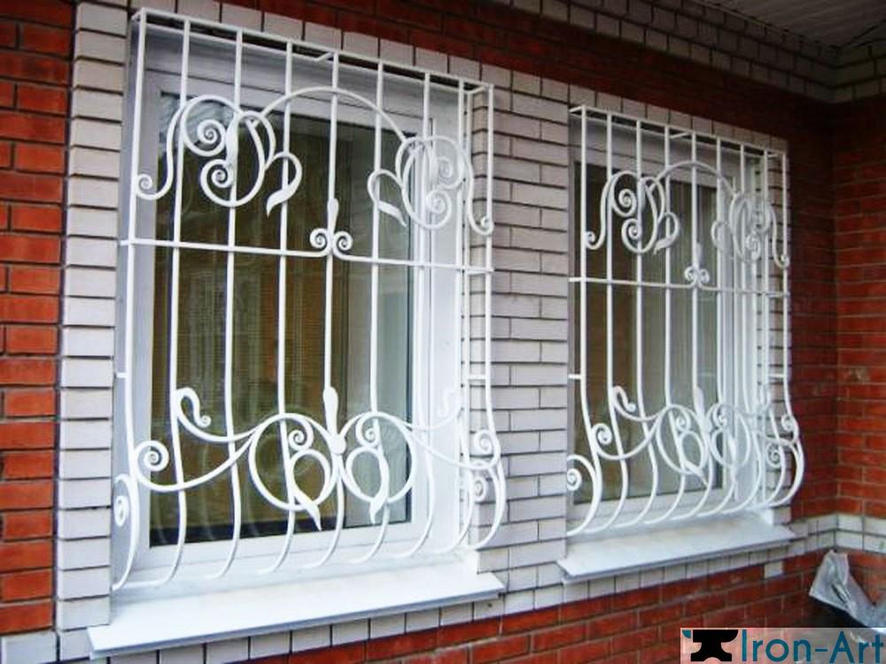 kovanye 4 - Металлические решетки на окна