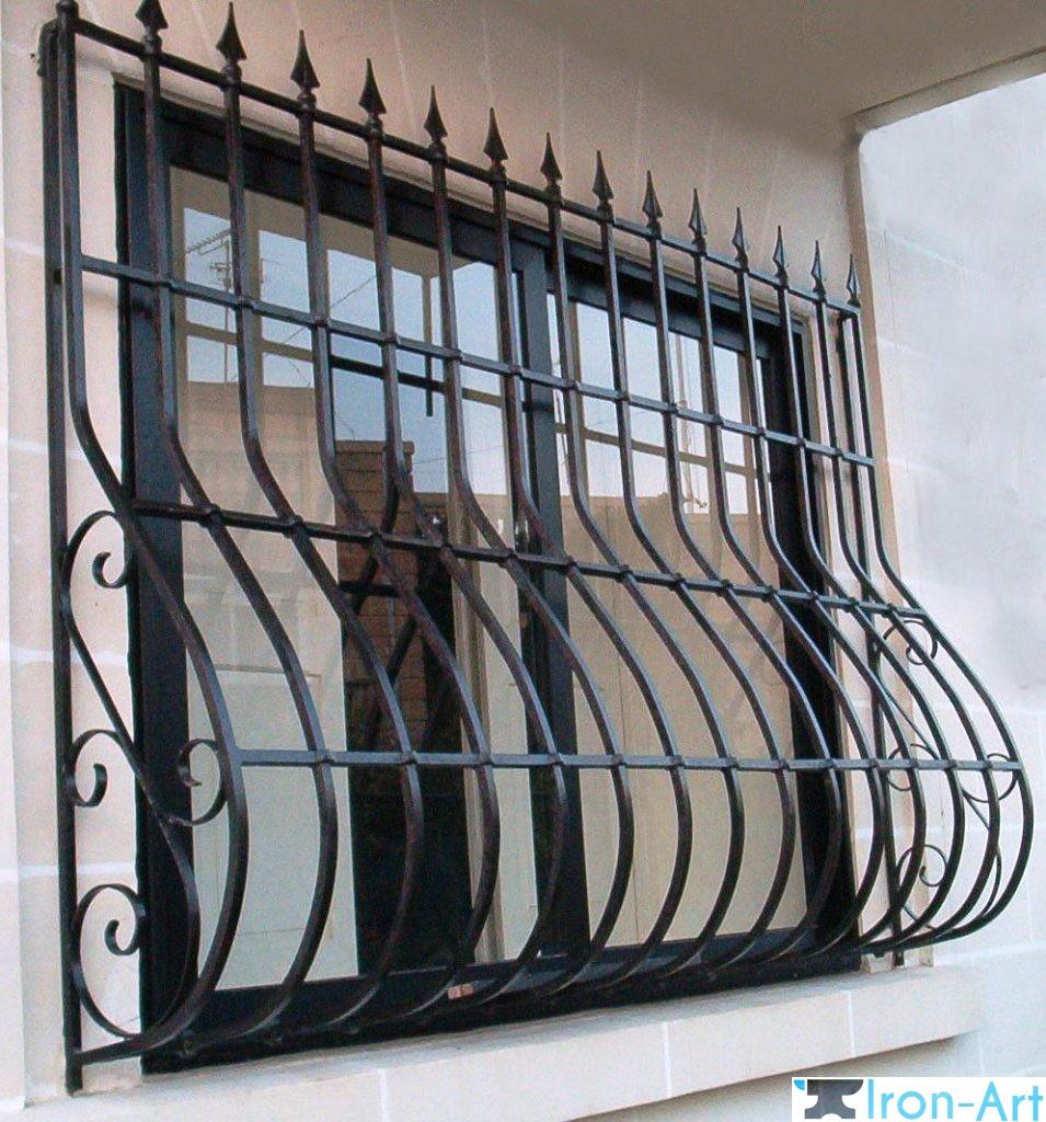 kovanye reshetki 6 955x1024 - Металлические решетки на окна