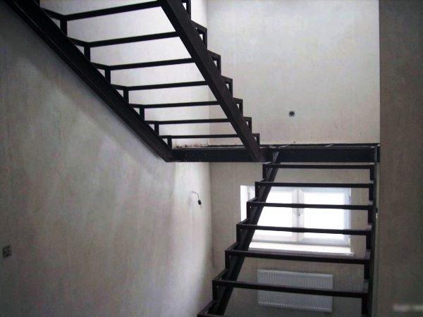 lestnica 8 - Лестницы из металла на заказ
