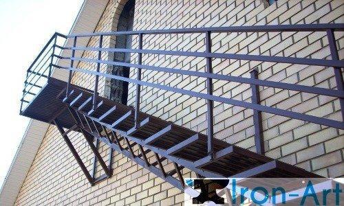 lestnica profil - Ограждения из металла под заказ