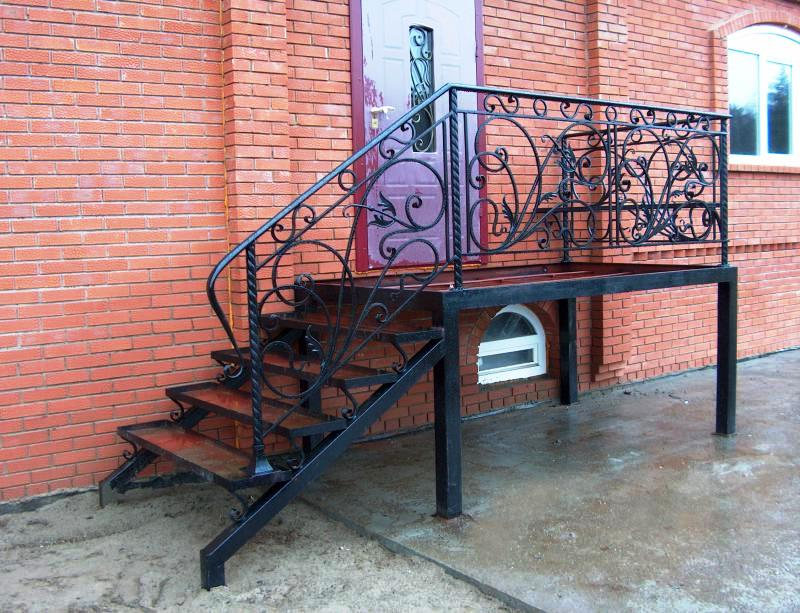 lestnici 560 - Лестницы из металла на заказ