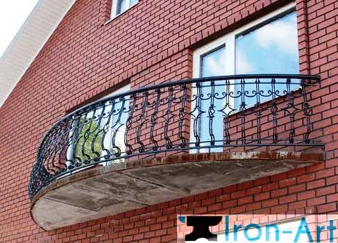 met ograzhdenie3 - Металлические балконы на заказ