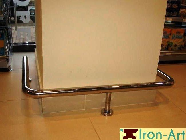 otboynik2 - Колесоотбойники металлические