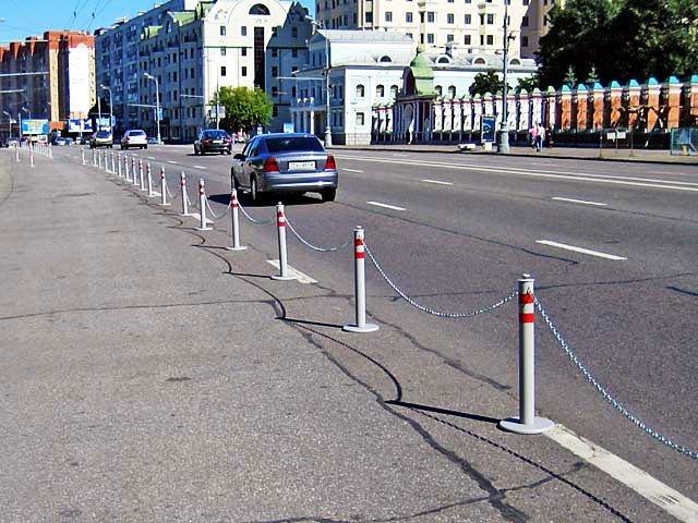 par 2 - Металлические парковочные столбики на заказ