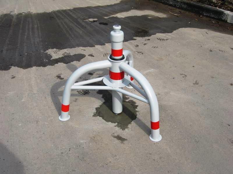 parkovochnyy stolb krab - Металлические парковочные столбики на заказ