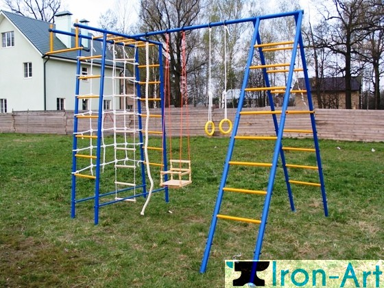 photo62 - Детские площадки из металла на заказ