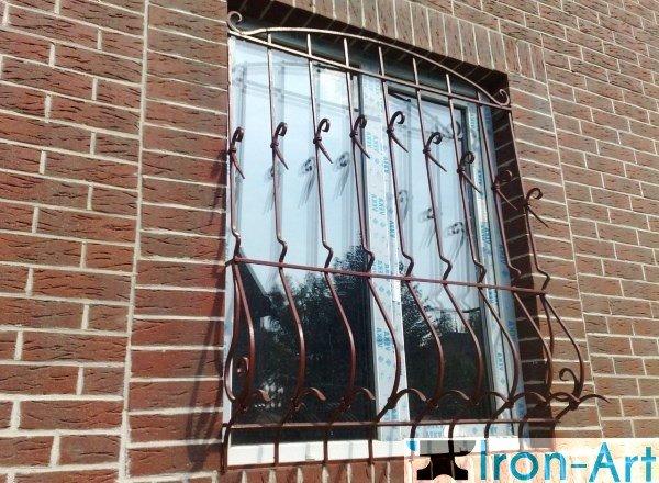 reshetki okna 10 - Металлические решетки на окна