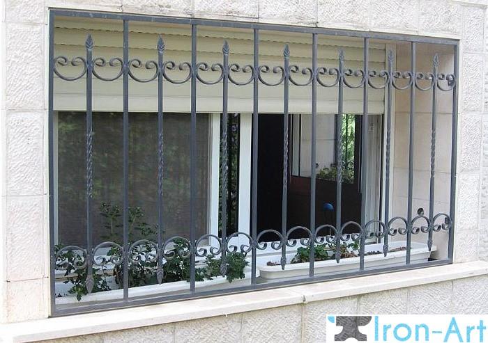 reshotki 26 - Металлические решетки на окна