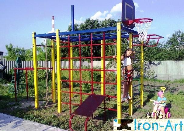 sportivnye kompleksy 3 - Детские площадки из металла на заказ