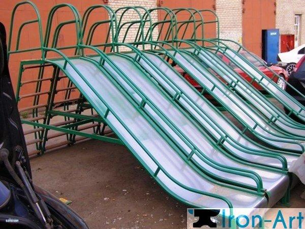 ulichnaya gorka 2227 2 enl - Детские площадки из металла на заказ