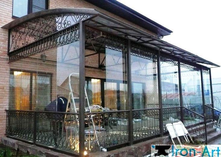 veranda2 - Навесы из металла под заказ