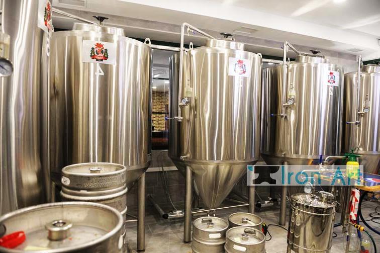 2 - Пивоварня из металла на заказ
