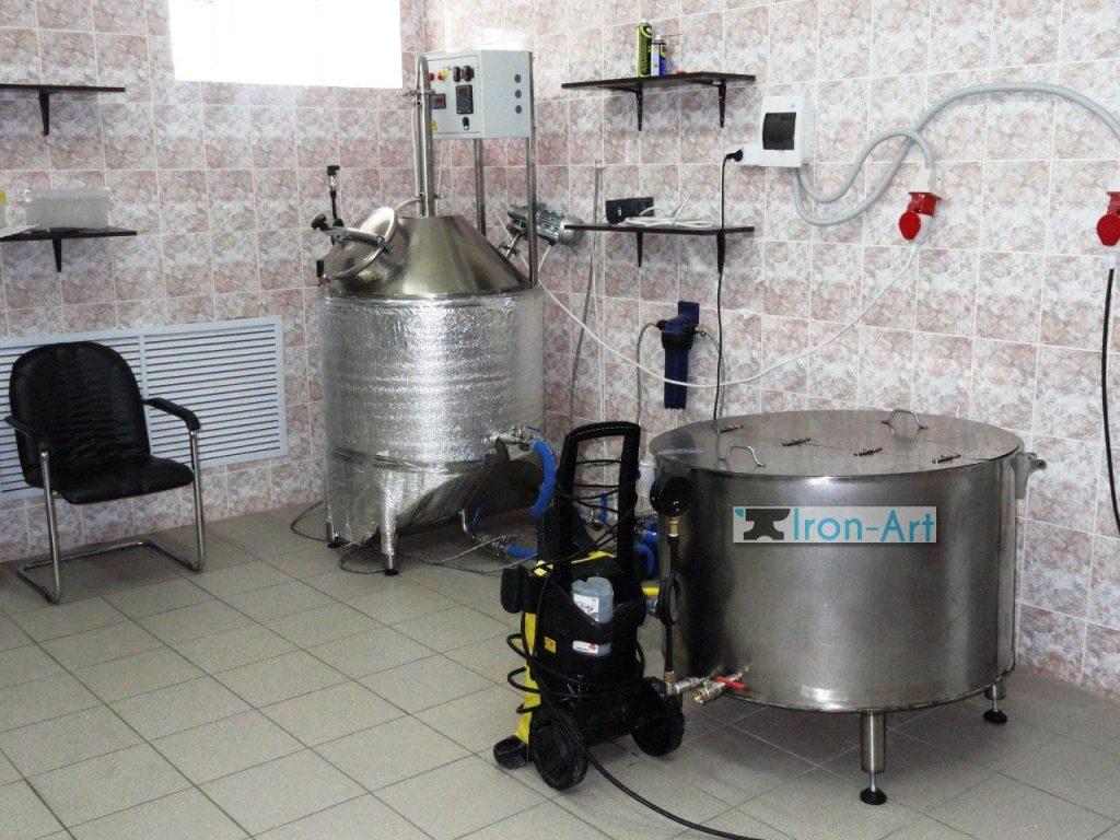 DSC04908 1024x768 - Пивоварня из металла на заказ