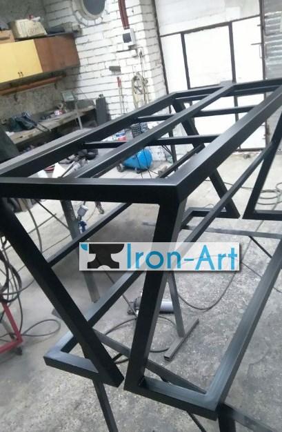 mebel iz metalla 6 - Столы из металла под заказ